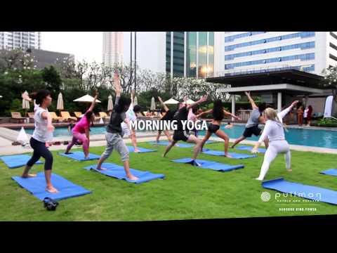 Wellness Morning Session on 28 April 2018 | Pullman Bangkok King Power