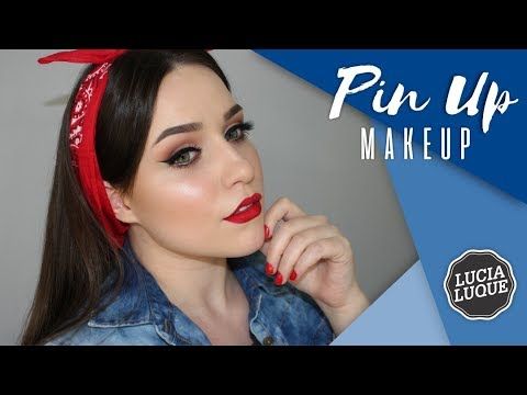 Maquillaje f cil estilo pin up youtube - Maquillage pin up ...