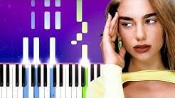 Dua Lipa - Break My Heart (Piano tutorial)