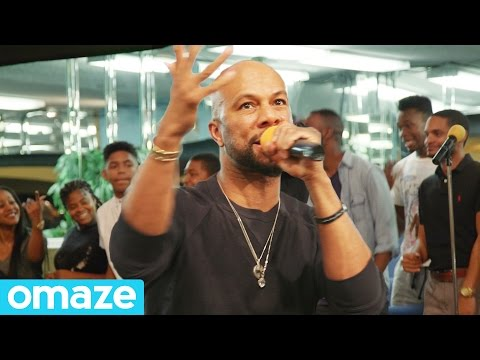 "Common Surprises Compton Youth Choir with ""Glory"" Performance // Omaze"