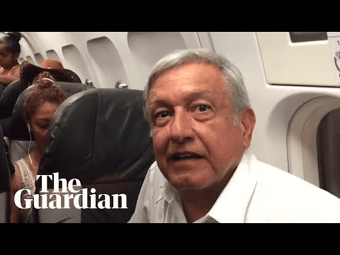 Mexican president-elect stuck on commercial flight