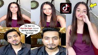 Jannat Zubair LIVE With Mr Faisu Reaction On Tik Tok Ban In India
