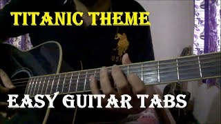Video Titanic Theme - Easy Beginners Single String Guitar Lead/Solo Lesson download MP3, 3GP, MP4, WEBM, AVI, FLV Juli 2018