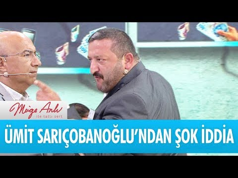 Ümit Sarıçobanoğlu'ndan şok iddia! - Müge Anlı İle Tatlı Sert 4 Eylül 2018