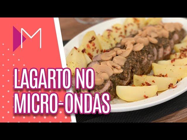 Lagarto no micro-ondas - Mulheres (20/02/2019)
