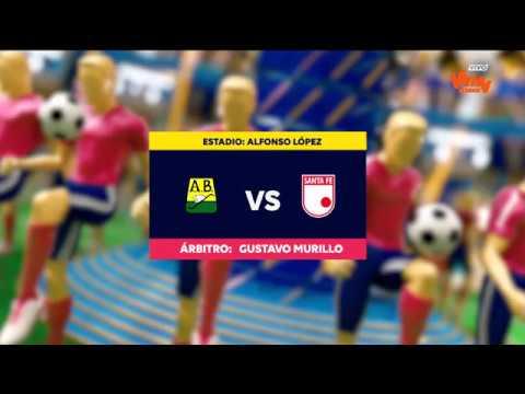 Liga Aguila 2018-I | Fecha 6 Bucaramanga 1 - 0 Santa Fe