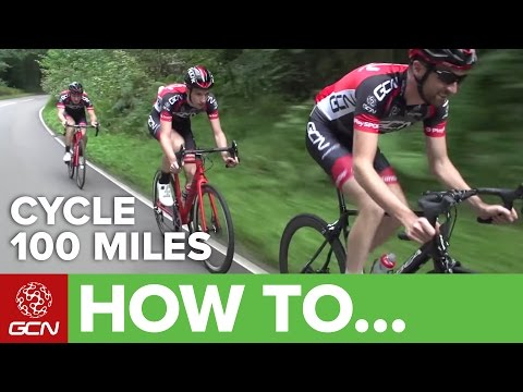 How To Cycle 100 Miles