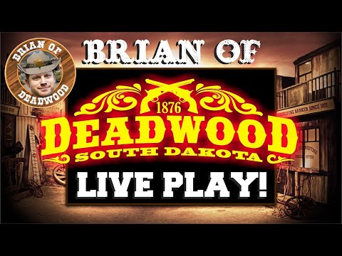 Live Casino Slot Play - $6,000 From Deadwood!