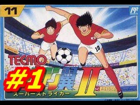 Captain Tsubasa 2 NES #1 Sao Paulo vs Fluminense (English) HD