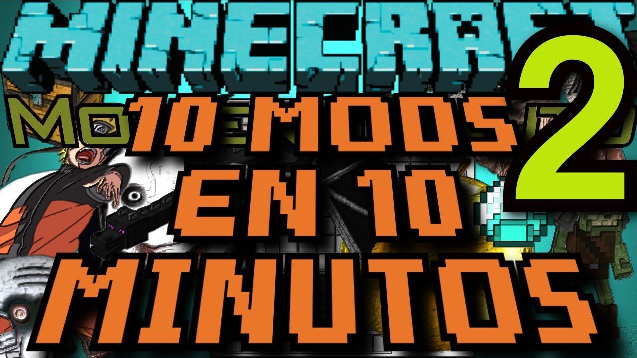 10 mods en 10 minutos 2 minecraft viyoutube for Cocinar en 10 minutos