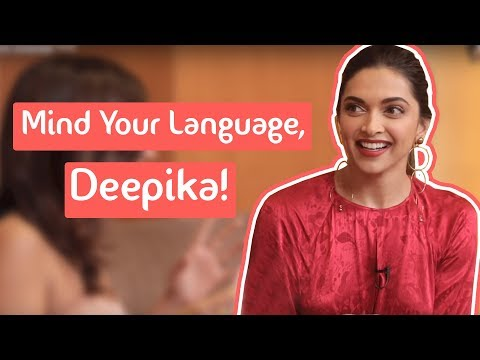 Mind Your Language With Deepika Padukone | Dialogue Game | MissMalini