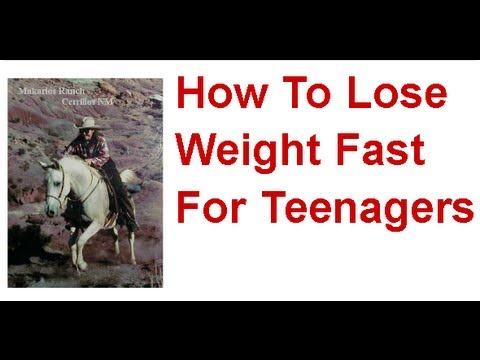 How To Lose Weight Fast For Teenagers ROCKS! How To Lose Weight Fast For Teenagers NOW!
