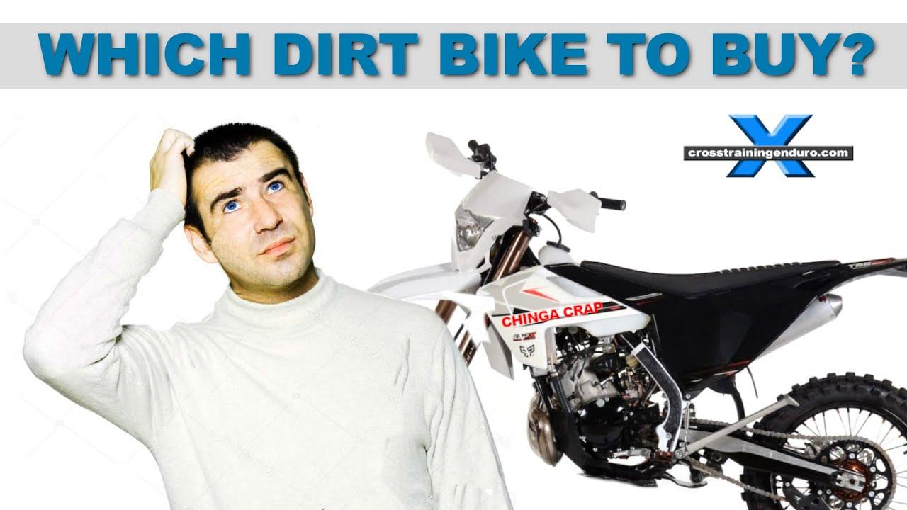 Which Dirt Bike Should I Buy Cross Training Enduro Skills