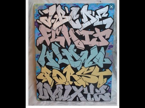 Graffiti Alphabet Letters From Different Artist Learn To Do Graffiti Letters
