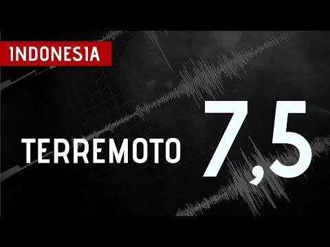 Fuerte Terremoto De 7,5 Sacude Indonesia
