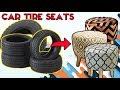 KREATIF!!! Cara Membuat Kursi Bulat Dari Ban Mobil Bekas