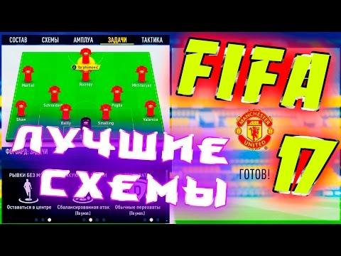 FIFA 17//ЛУЧШИЕ СХЕМЫ + СВОЯ ТАКТИКА//