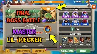 Angry Birds Evolution ~ Level 80 Ultimate Hard Final Boss Battle ~ Master Lil 'Pecker  !!!