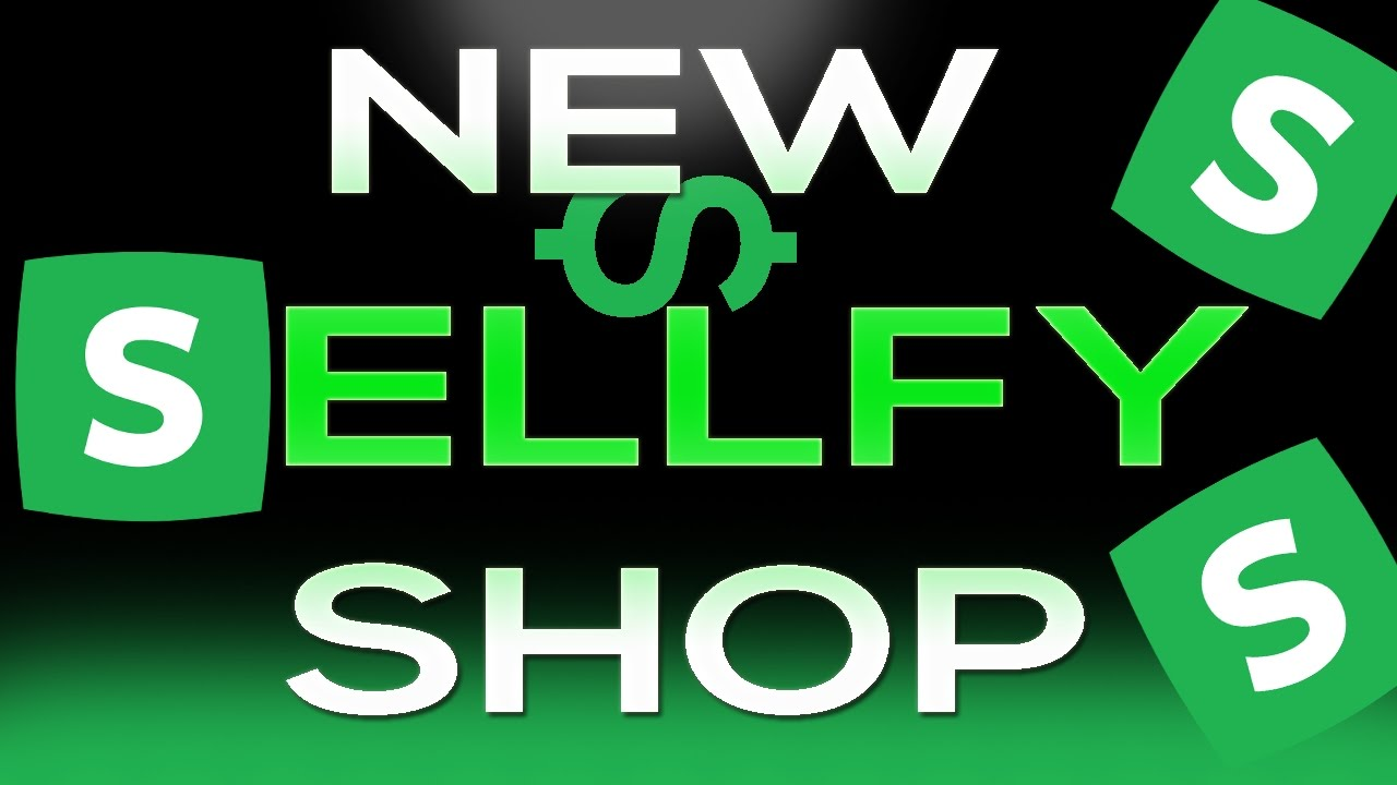 MY BRAND NEW SELLFY SHOP!!! || FREE PROJECT FILES, AND MORE || ENJOY