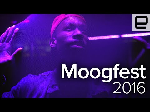 We used Kinect to remix the music of Grimes at Moogfest 2016