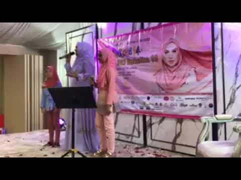 Datuk Seri Siti Nurhaliza menyanyikan lagu Comel Pipi Merah
