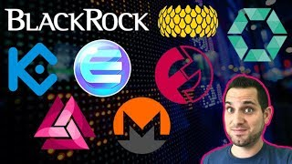 📈 Markets Up! BlackRock Investments ETF 🚀 MASSIVE Crypto Updates: $ENJ $TNC $COB $SRN $FUN $EOS $XMR