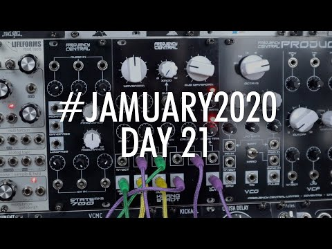 For those that like drones I salute you! Frequency Central Klang Stadt // #JAMUARY2020 DAY 21