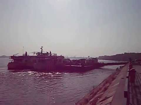 Danube Galati Galatz Crossing the river ^  trecere cu bacul