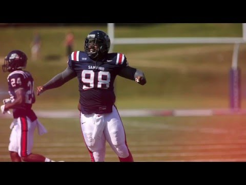 Michael Pierce || Strongest Man in College Football || Samford Highlights