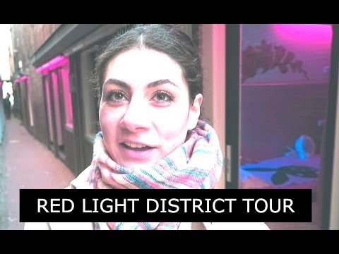 RED LIGHT DISTRICT WALKING TOUR TRAVEL VLOG 247 AMSTERDAM | ENTERPRISEME TV