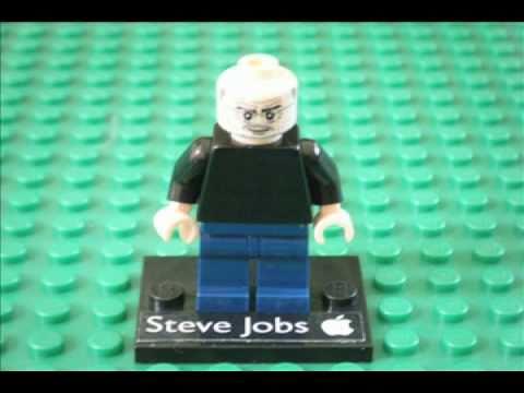 LEGO Steve Jobs Minifig