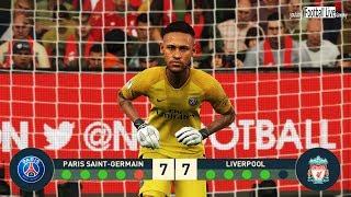 Pes 2019 | neymar jr goalkeeper vs mo ...