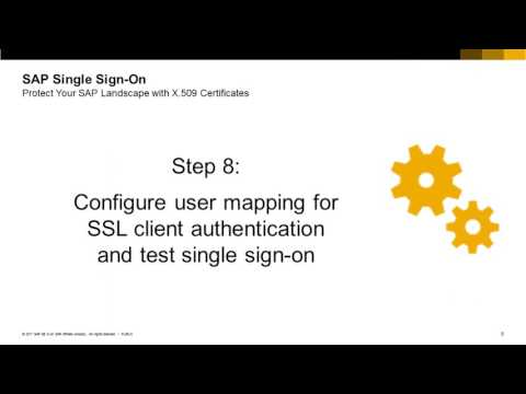 SAP Single Sign-On with X 509 Certificates, Part 5/5: Single Sign-On