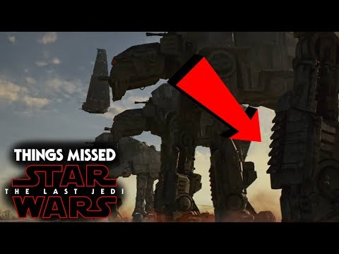Star Wars The Last Jedi Trailer - Things You Missed & More!