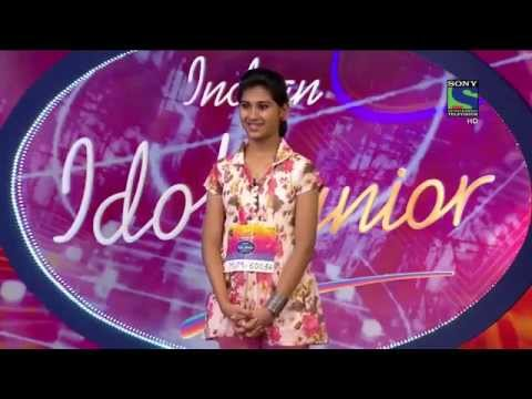 Indian Idol Junior 2015   Zara Zara Tamil version by Nithyashree