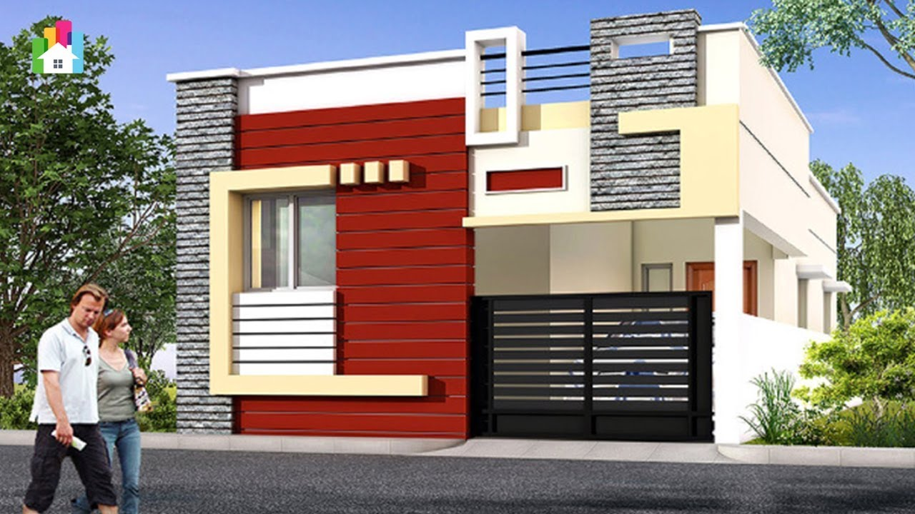 Top Small Home Front Elevation Designs Independent House