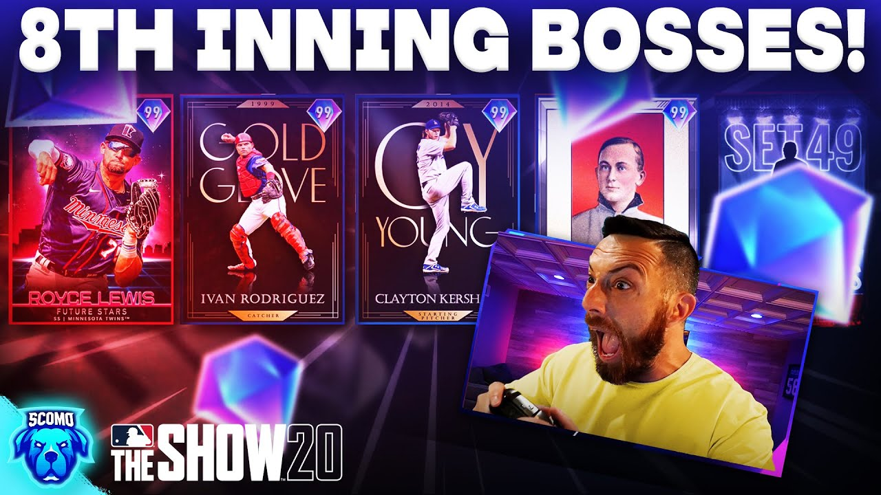 8TH INNING BOSSES & DIAMOND PULLS! [MLB The Show 20]