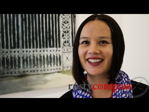 Talking Art Vietnam - Zoe Butt from San Art Ho Chi Minh City
