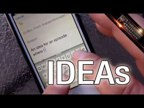 Filmmaking Idea Filing System - Basic Filmmaker Ep 121