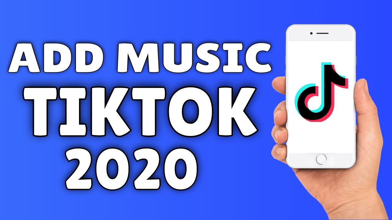 How To Add Music To Tiktok Video 2020 Youtube