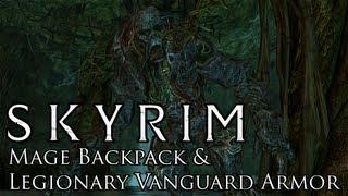 Skyrim Mods: Mage Backpack & Legionary Vanguard Armor