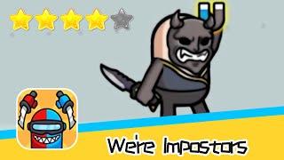 We're Impostors Day21 Walkthrough Rescue Squad Recommend index four stars