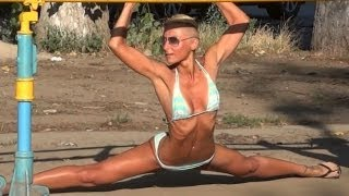 Street Workout in Ukraine - Female Fitness Motivation / HYDROPARK UKRAINE