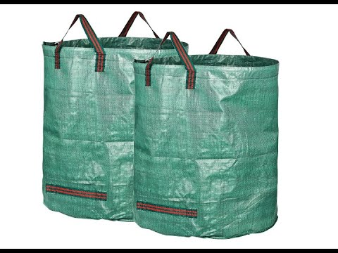 GardenMate 2-Pack 132 Gallons Professional Reusable Garden Waste Bags (H34, D34 inches) – Overview