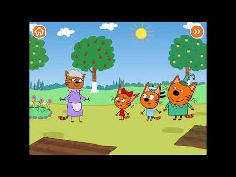Нарезка игр про Три Кота! Лучшие игры по мультику для детей Три Кота ! Сборник развивающих игр