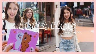 shopping, nails, idol sighting! | korea vlog