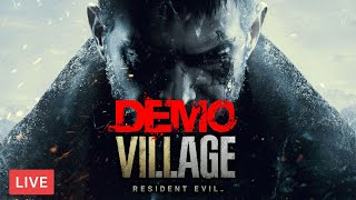 Resident Evil Village Demo Maiden - RE8 !scary