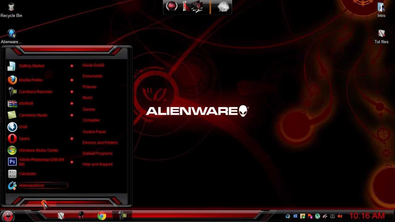 alienware skin