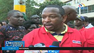 Governor-elect Mike Sonko leads Nairobi CBD clean up exercise