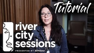 River City Session Tutorial   Mixing with Wesley Devore  - Using plug-ins to get the right sound!